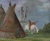 Comanche Lodge of Buffalo Skins