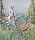 In the Garden (Celia Thaxter in Her Garden)