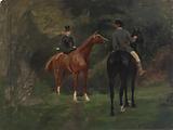 Figures on Horseback