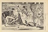 A Parisian Ball – Dancing at the Mabille, Paris, from Harper's Weekly, November 23, 1867