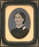 Woman in Lace Collar