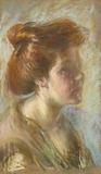 Girl with Titian Hair