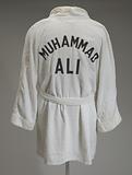 Training robe worn by Muhammad Ali at the 5th Street Gym