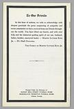 Program from Martin Luther King, Jr'. S funeral at the Ebenezer Baptist Church.