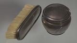 Silver brush owned by members of the Ellis family