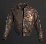 Tuskegee Airman flight jacket worn by Lt. Col. Woodrow W. Crockett.