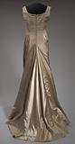Satin gown worn by Marian Anderson and Denyce Graves