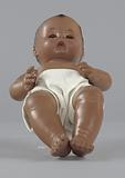 Baby doll used by Northside Center for Child Development