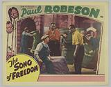 Lobby card for The Song of Freedom