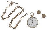 Pocketwatch inscribed to William Lloyd Garrison from George Thompson