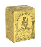Collection box of the Rhode Island Anti-Slavery Society owned by Garrison family