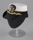 US Navy dress uniform hat worn by Admiral Michelle Howard