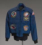 NASA flight jacket owned by Charles Bolden