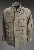 Army jacket worn by Andre M. Jones during the Iraq War.