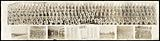 Photograph of World War II soldiers from Company D, 8th Battalion, Ft. Belvoir.