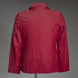 Red leather Delta Sigma Theta jacket owned by Tobi Douglas A. Pulley.