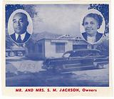 Mr. And Mrs. S M. Jackson, Owners.