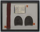 Framed memorabilia from Selma to Montgomery March used by Dabney N. Montgomery.