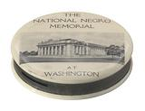 Keepsake pocket bank for the National Negro Memorial