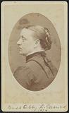 Carte-de-visite portrait of Abby D. Munro.