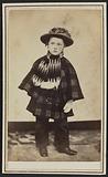 Carte-de-visite portrait of Willy Hall