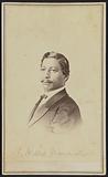 Carte-de-visite portrait of John W. Menard.