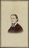Carte-de-visite portrait of an unidentified woman