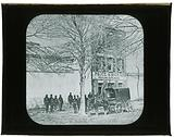 Lantern Slide of the slave dealers, Birch & Co. , in Alexandria, Virginia.