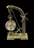 Nautical clock gifted from Pres. Theodore Roosevelt to William L. Houston.