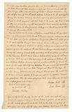 Transcript of court record regarding payment for hire of enslaved persons