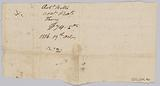 Record of taxes on property, including enslaved persons, owned by John Rouzee