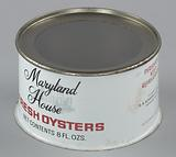 Oyster can used by H. B Kennerly & Son, Inc.