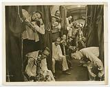 Photographic print of Cab Calloway and his band in a sleeper car