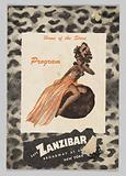 Program for Cafe Zanzibar