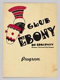 Program for Club Ebony