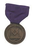 Medal for the 100th anniversary of the Prince Hall Grand Lodge of New Jersey