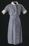 Nurse's uniform dress worn by Pauline Brown Payne