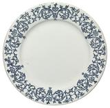 Ceramic plate from Wormley & Son catering service