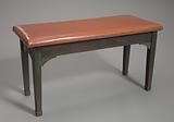 Piano bench from Pilgrim Baptist Church used by Thomas Dorsey