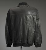 Black leather jacket worn by Gil Scott-Heron
