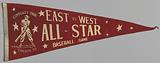 Pennant from a Negro League East vs. West All-Star Game.