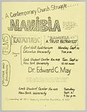 Flyer advertising film viewings for Katatura and Namibia- A Trust Betrayed