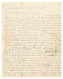 Letter written by John Brown and Frederick Douglass to Brown's wife and children