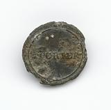 Identification button used by Thomas Porter II