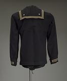 US Navy dress jumper worn by Lorenzo DuFau on USS Mason
