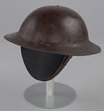 Helmet worn by Peter L. Robinson, Sr. During World War I.