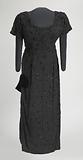 Black beaded dress designed by Zelda Wynn and worn by Ella Fitzgerald