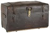 Traveling trunk used by George Thompson Garrison in the Civil War