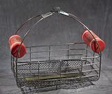 Rescue basket used during Hurricane Katrina
