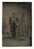 Tintype of a man